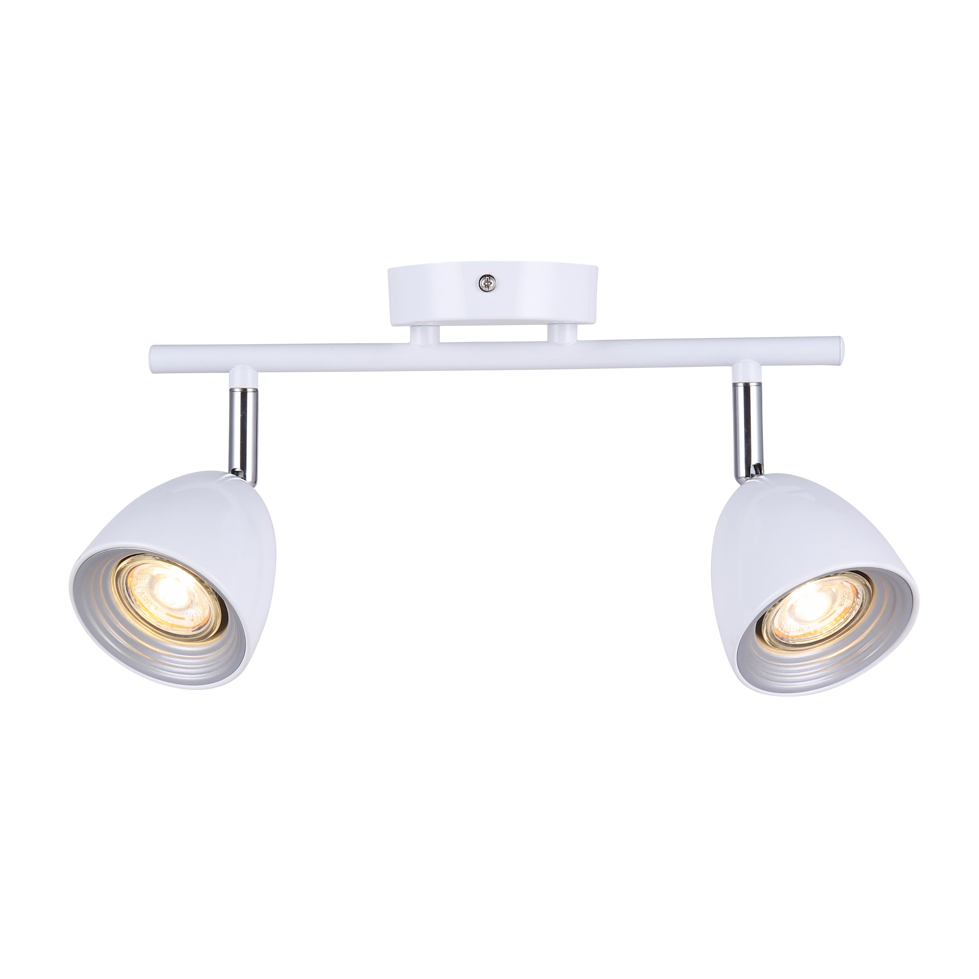 Потолочный светильник с регулировкой направления света Favourite F-Promo Allegra 2393-2U, 2xGU10x50W - фото 1