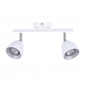 Потолочный светильник с регулировкой направления света Favourite F-Promo Allegra 2393-2U, 2xGU10x50W - миниатюра 2