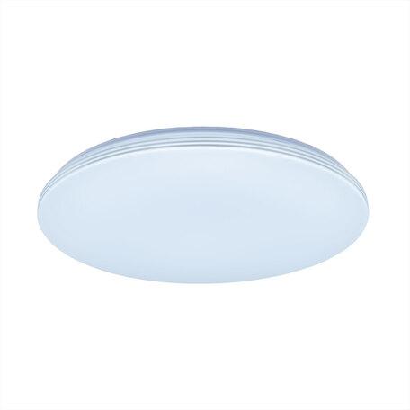 Потолочный светодиодный светильник Citilux Симпла CL714R48N, LED 48W 4000K 4800lm, белый, пластик