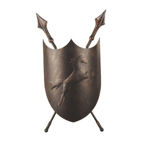 Настенный светильник Favourite Schild 1787-2W, 2xE14x40W, коричневый с золотой патиной, металл