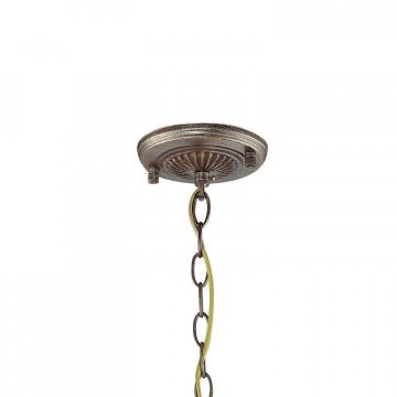 Подвесная люстра Favourite Bazar 1624-3P, 3xE14x40W, коричневый с золотой патиной, коньячный, металл, металл с хрусталем - миниатюра 2