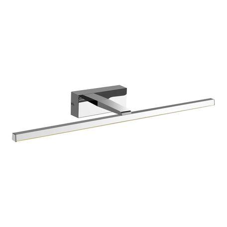 Настенный светодиодный светильник для подсветки зеркал Favourite Scriptor 2433-2W, IP44, LED 12W 4000K 795lm, хром, металл
