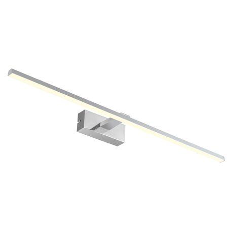 Настенный светодиодный светильник для подсветки зеркал Favourite Scriptor 2433-3W, IP44, LED 18W 4000K 976lm, хром, металл