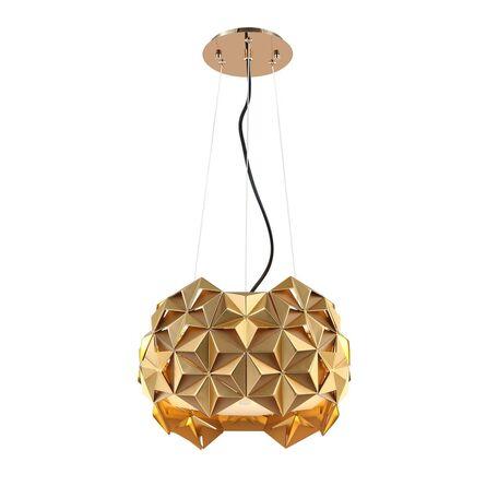 Подвесной светильник Favourite Sollicitat 2503-2P, 2xE27x25W, золото, матовое золото, металл