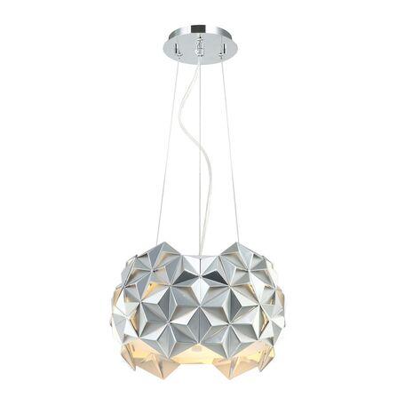 Подвесной светильник Favourite Sollicitat 2504-2P, 2xE27x25W, хром, металл