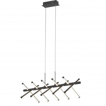 Подвесной светодиодный светильник Favourite Carcass 2382-10P, LED 60W 4000K (дневной)