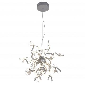 Подвесная светодиодная люстра Favourite Coil 2387-18P, LED 108W 4000K (дневной)