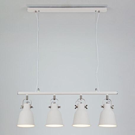Подвесной светильник с регулировкой направления света Eurosvet Projector 50083/4 белый, 4xE27x40W, белый, металл