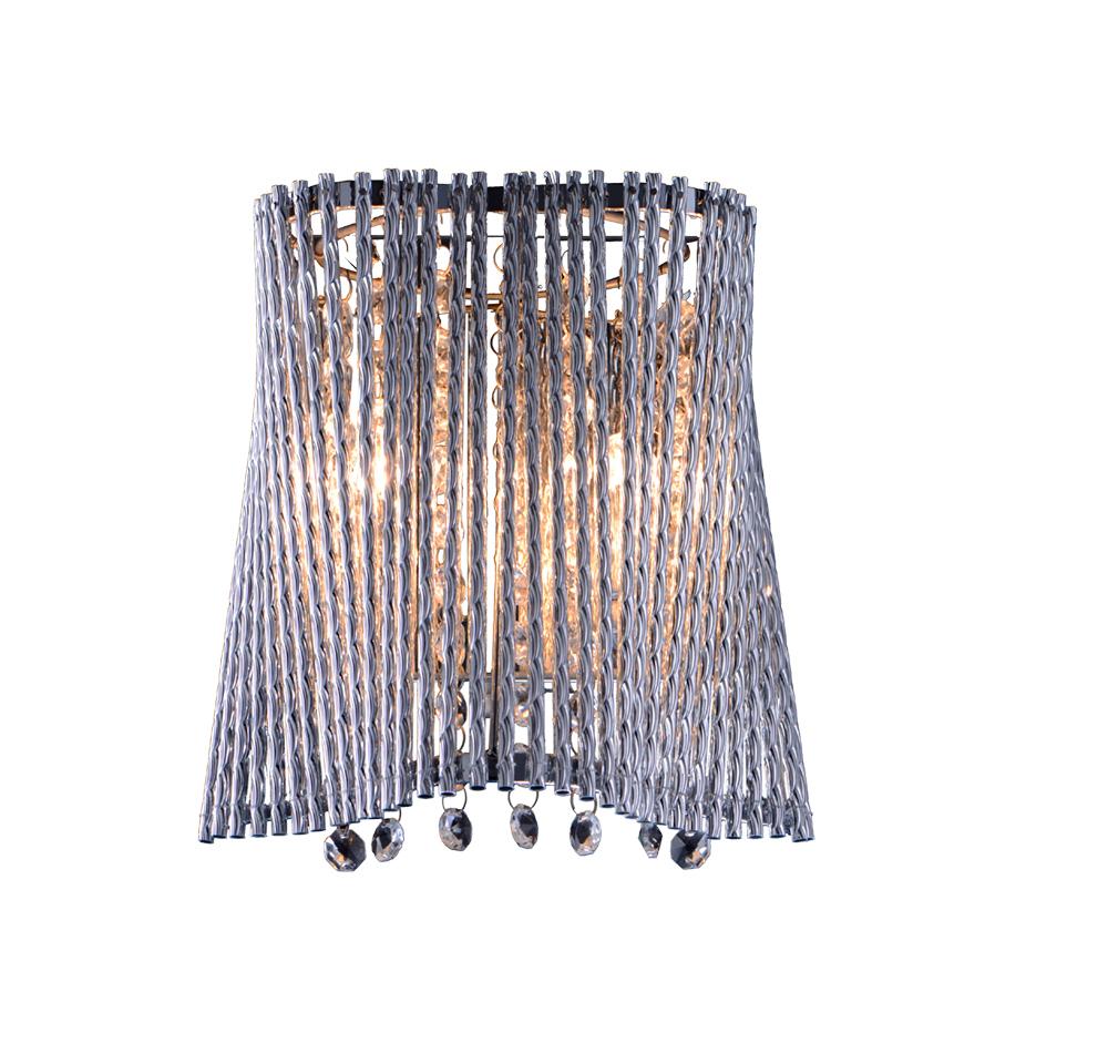 Бра Arte Lamp Incanto A4207AP-2CC, 2xG9x40W, хром, прозрачный, металл, хрусталь - фото 1