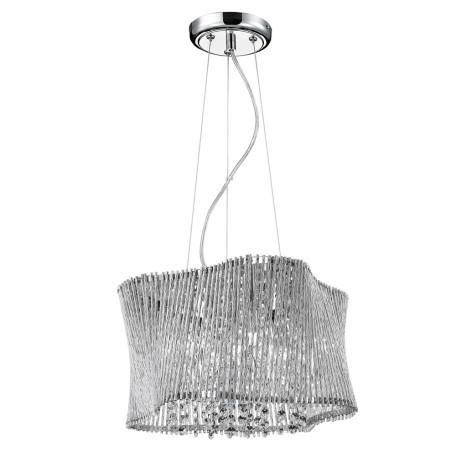 Подвесная люстра Arte Lamp Incanto A4207SP-4CC, 5xG9x40W, хром, прозрачный, металл, хрусталь