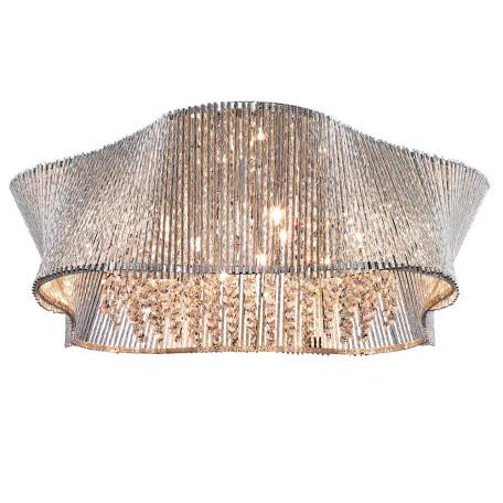 Потолочная люстра Arte Lamp Incanto A4207PL-9CC, 9xG9x40W, хром, прозрачный, металл, хрусталь