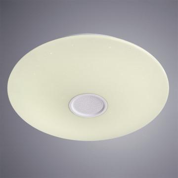 Музыкальный потолочный светодиодный светильник Arte Lamp Suono A5524PL-1WH, IP44, белый, металл, пластик - миниатюра 2