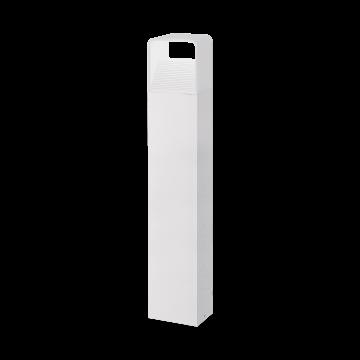 Садово-парковый светодиодный светильник Eglo Doninni 96499, IP44, LED 5W, 3000K (теплый), белый, прозрачный, металл, пластик