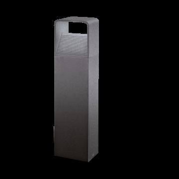 Садово-парковый светодиодный светильник Eglo Doninni 96502, IP44, LED 5W, 3000K (теплый), прозрачный, серый, металл, пластик