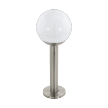 Садово-парковый светильник с пультом ДУ Eglo Nisia-C 97248, IP44, 1xE27x9W, сталь, белый, металл, пластик