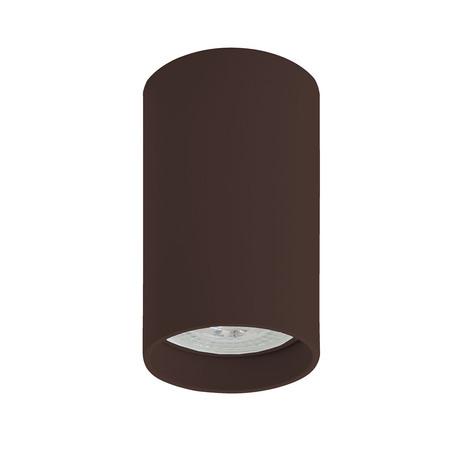 Потолочный светильник Denkirs DK2008-CH, 1xGU10x50W, коричневый, металл