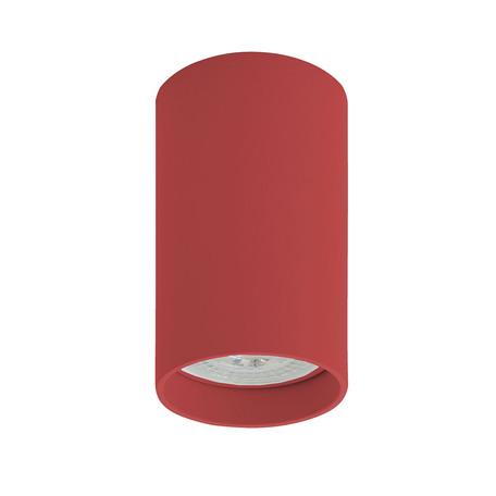 Потолочный светильник Denkirs DK2008-RE, 1xGU10x50W, красный, металл