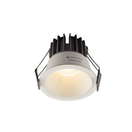 Встраиваемый светодиодный светильник Denkirs DK4400-WH, LED 7W, белый, металл