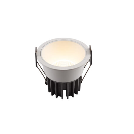 Встраиваемый светодиодный светильник Denkirs DK4500-WH, LED 12W, белый, металл
