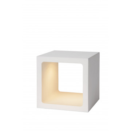 Настольная светодиодная лампа Lucide Xio 17594/05/31, IP40, LED 6W 3000K 535lm CRI80, белый, металл