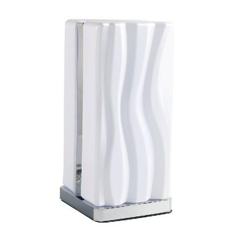 Настольная лампа Mantra Arena 5046, хром, белый, металл, пластик
