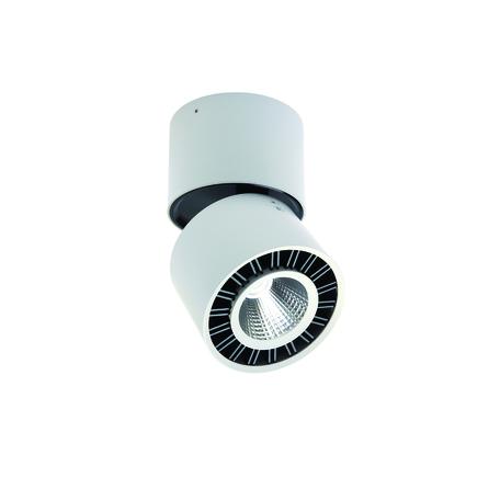Потолочный светильник с регулировкой направления света Mantra Columbretes C0085, белый, черный, металл