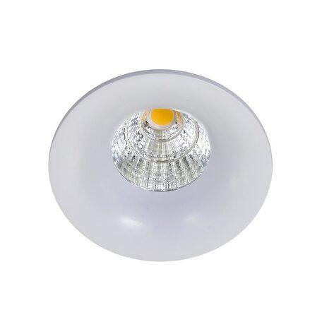Встраиваемый светодиодный светильник Citilux Гамма CLD004W0, LED 7W 3000K 550lm, белый, металл
