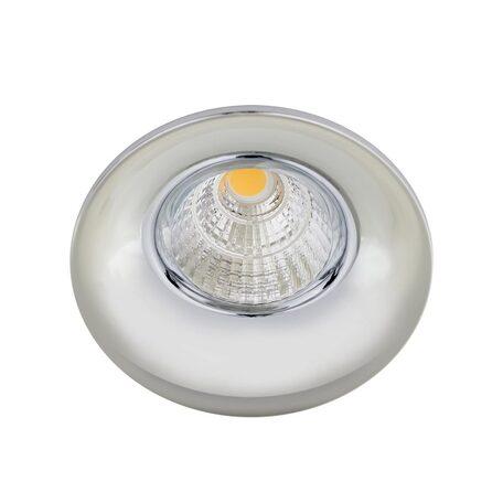 Встраиваемый светодиодный светильник Citilux Гамма CLD004W1, LED 7W 3000K 550lm, хром, металл
