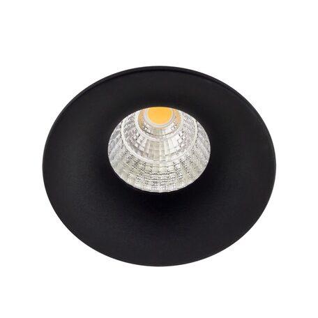 Встраиваемый светодиодный светильник Citilux Гамма CLD004W4, LED 7W 3000K 550lm, черный, металл