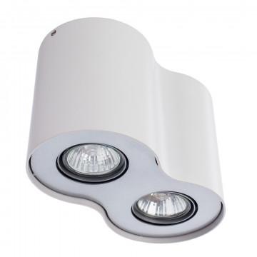 Потолочный светильник Arte Lamp Instyle Falcon A5633PL-2WH, 2xGU10x50W, белый, металл - миниатюра 3