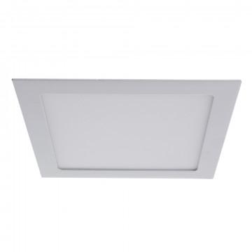 Светодиодная панель Arte Lamp Instyle Fine A2418PL-1WH, белый, металл, пластик