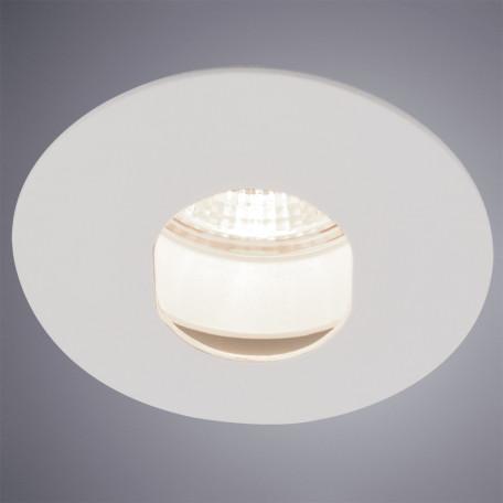 Встраиваемый светильник Arte Lamp Instyle Accento A3219PL-1WH, 1xGU10x50W, белый, металл