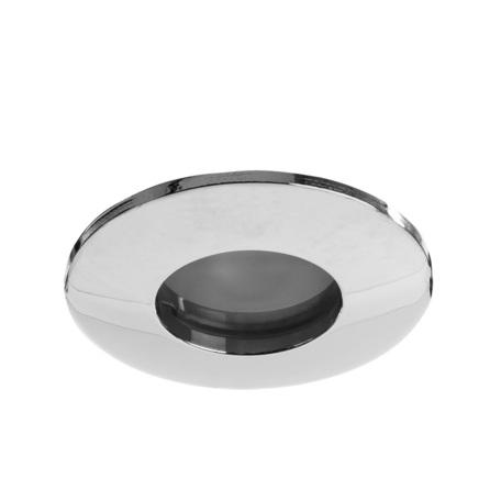 Встраиваемый светильник Arte Lamp Instyle Aqua A5440PL-1CC, IP44, 1xGU10x50W, хром, металл, стекло