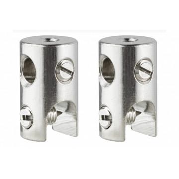 Монтажный комплект для тросовой системы освещения Paulmann 978019, хром, металл