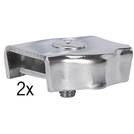 Монтажный комплект для тросовой системы освещения Paulmann 978029, хром, металл