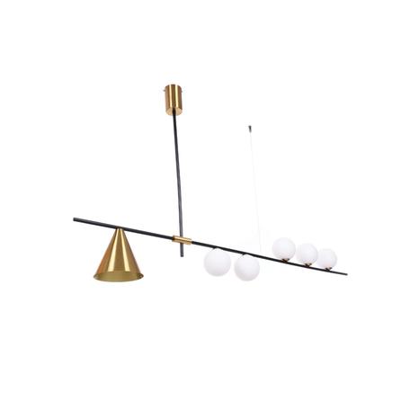 Подвесной светильник Lumina Deco LDP 6043-6 BK+MD