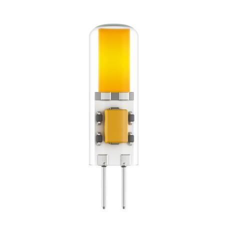 Филаментная светодиодная лампа Lightstar LED 940442 капсульная G4 3W, 3000K (теплый) 220V, гарантия 1 год
