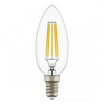 Филаментная светодиодная лампа Lightstar LED 940562 свеча E14 4W, 3000K (теплый) 220V, гарантия 1 год