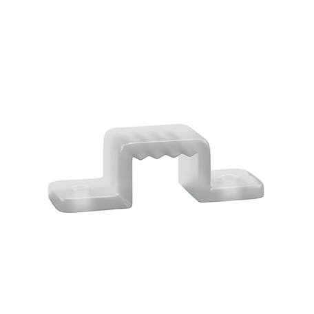 Монтажная клипса для профиля для светодиодной ленты Lightstar 408906, белый, пластик