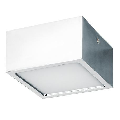 Потолочный светодиодный светильник Lightstar Zolla 213924, IP44 4000K (дневной), белый, хром, металл, пластик - миниатюра 1