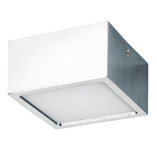 Потолочный светодиодный светильник Lightstar Zolla 213924, IP44 4000K (дневной), белый, хром, металл, пластик - фото 1