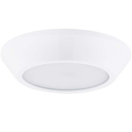 Потолочный светодиодный светильник Lightstar Urbano 214902, IP65, LED 10W 3000K 1175lm, белый, металл с пластиком