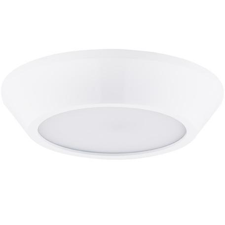 Потолочный светодиодный светильник Lightstar Urbano 214904, IP65, LED 10W 4200K 1175lm, белый, металл с пластиком