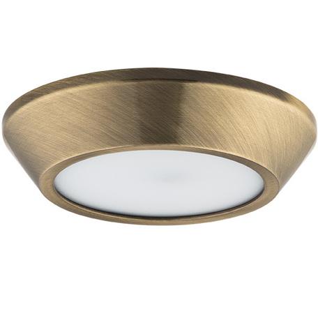 Потолочный светодиодный светильник Lightstar Urbano 214914, IP65, LED 10W 4200K 1175lm, бронза, металл с пластиком