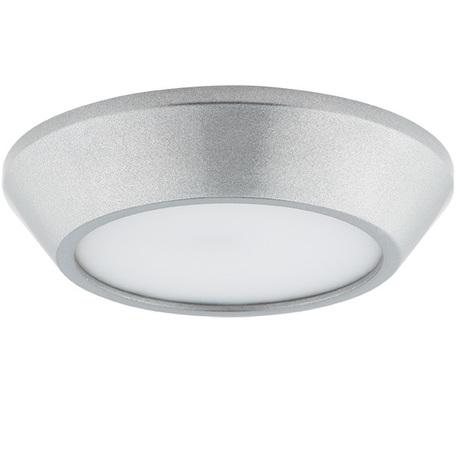 Потолочный светодиодный светильник Lightstar Urbano 214992, IP65, LED 10W 3000K 1175lm, хром, металл с пластиком