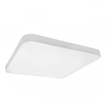 Потолочный светодиодный светильник Lightstar Arco 226204, IP44, LED 20W 4000K 1920lm, белый, пластик