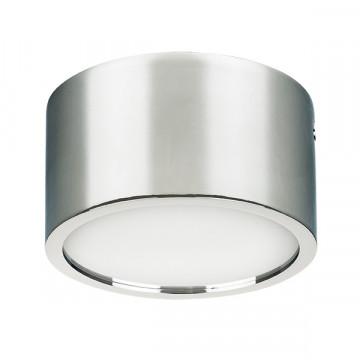 Потолочный светодиодный светильник Lightstar Zolla 213914, IP44, LED 10W 4000K 780lm, хром, металл