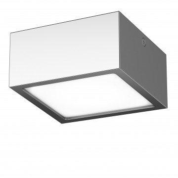 Потолочный светодиодный светильник Lightstar Zolla 213924, IP44, LED 10W 4000K 780lm, хром, металл - миниатюра 1