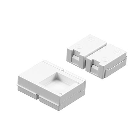 Соединитель для светодиодной ленты Lightstar 408080, белый, пластик