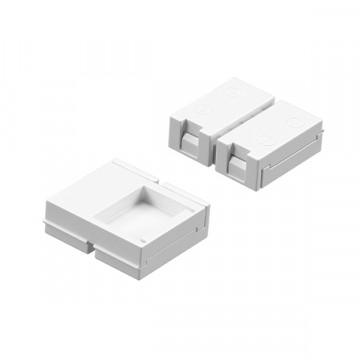 Соединитель для светодиодной ленты Lightstar 408110-1, белый, пластик